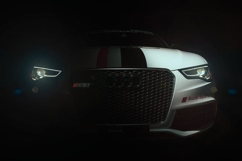 Audi RS5 pikes peak